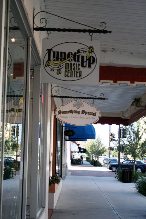 Day 17 – Looking down First Street in Sanford, FL