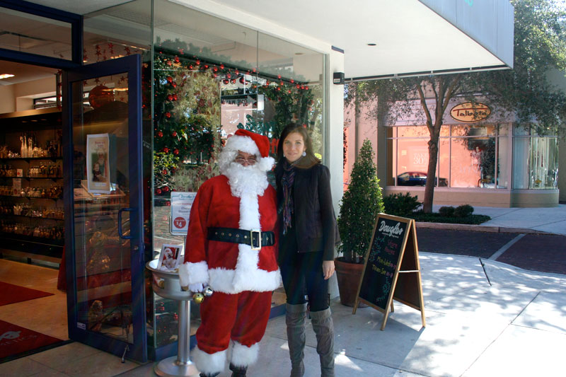 Day 89 – Santa and Claudia in Winter Park