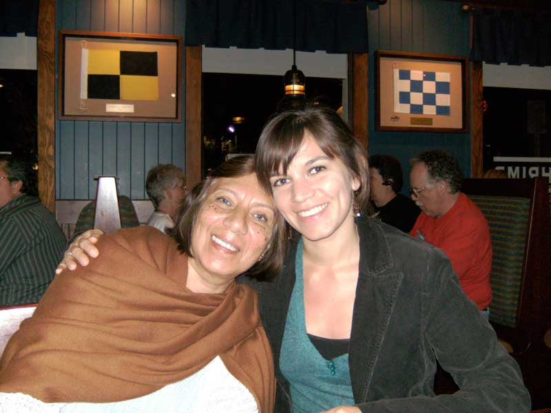 Day 91 – Ma and Gabi at Red Lobster in Sanford