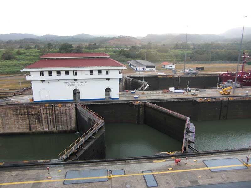 Day 158 – Miraflores Locks at the Panama Canal
