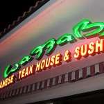 Day 164 – Sushi at Wazzabi in Winter Park FL