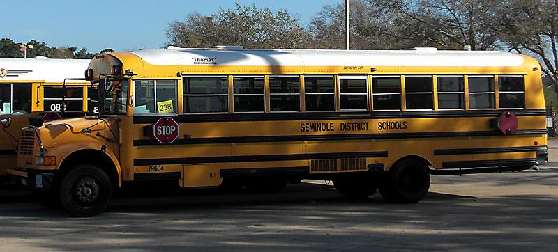 Day 173 – Seminole County School Bus