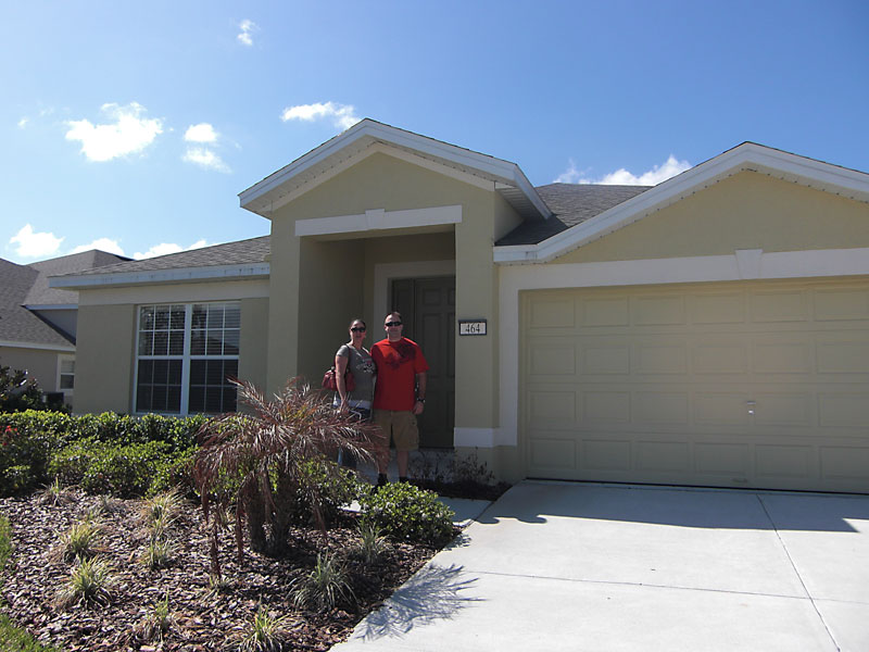 Day 182 – Diana and Mike's New Home in Clermont