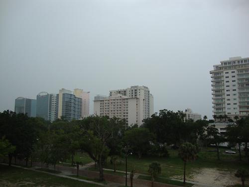 Day 262 – Rain over Orlando and Thornton Park