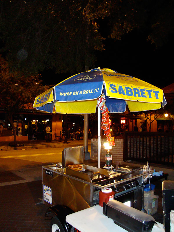 Day 268 – Hot Dog Stand Downtown Orlando