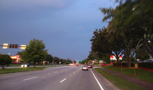 Day 286 – Lake Mary Boulevard at Dusk