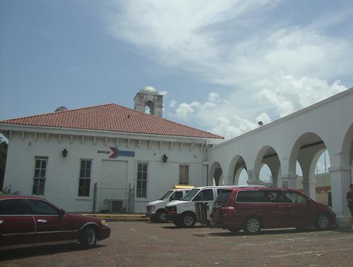 Day 314 – Amtrak Passenger Train in Sanford FL