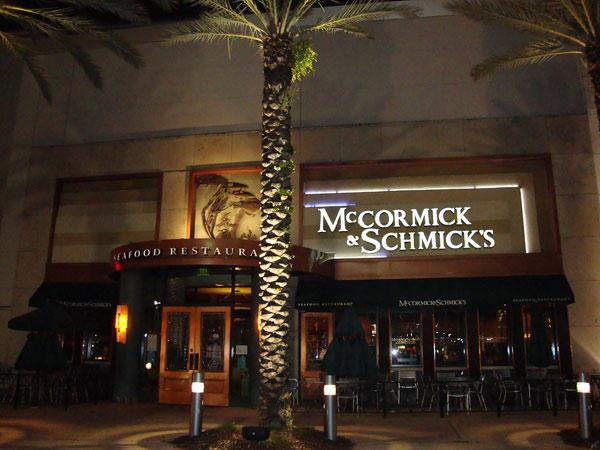 Day 331 – McCormick and Schmicks Orlando