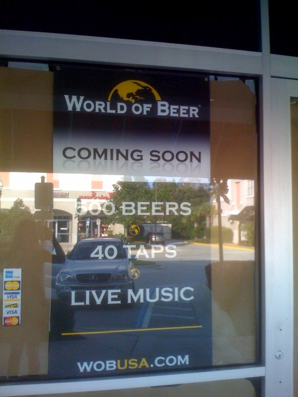 World of Beer Opening at Colonial Town Park in Lake Mary