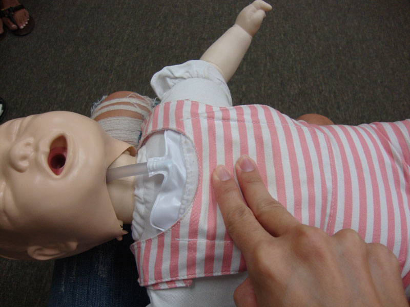 Picture of My Day – 10 – Infant CPR Class