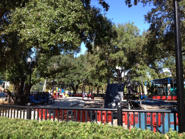 Picture of My Day – 51 – Lake Eola Playground