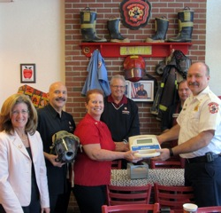 Firehouse Subs Donates more than $8,800 to Sanford Fire Department