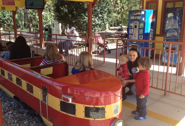 things to do with kids in Sanford FL - Train at the Sanford Zoo