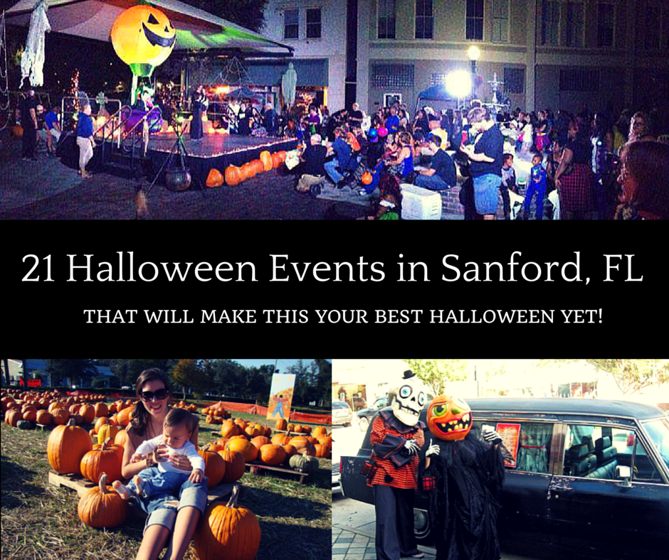 Sanford's 2017 Halloween Events – 25+ Events that will make this the best Halloween yet