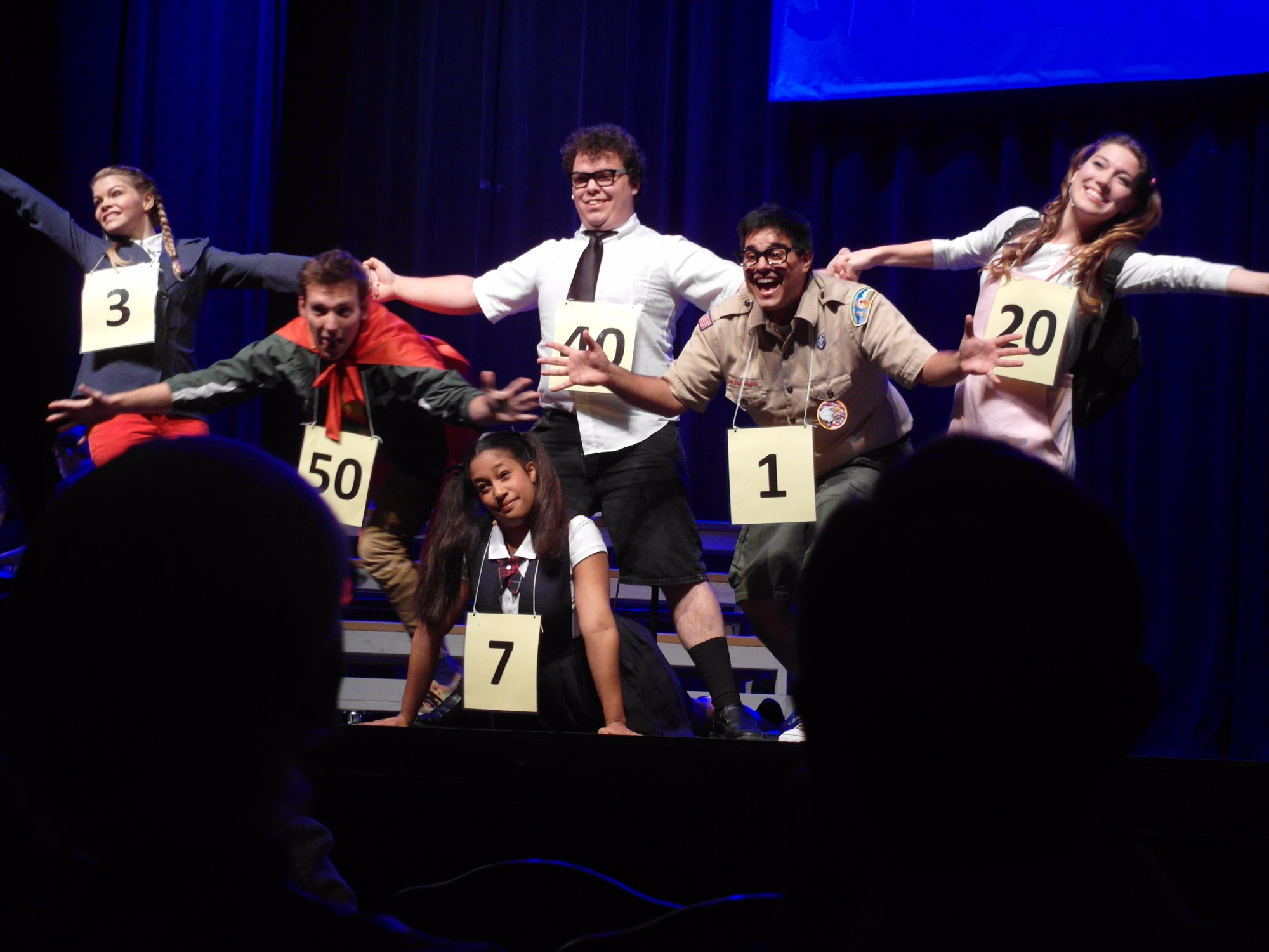 The 25th Annual Putnam County Spelling Bee at the Wayne Densch Performing Arts Center