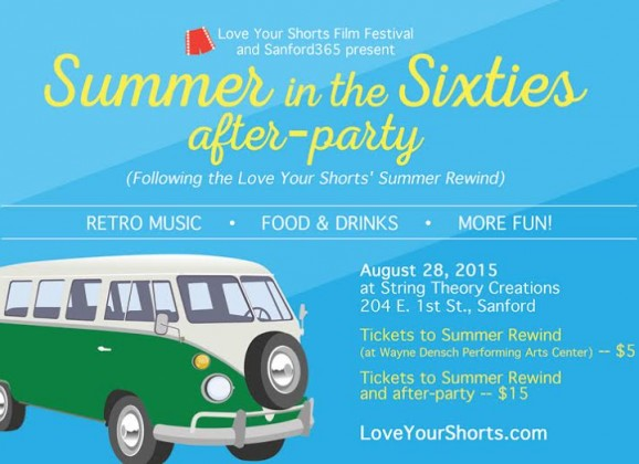 NEW! Love Your Shorts Summer Rewind After Party